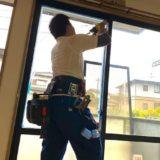 【福岡 佐賀に即出張】窓ガラスの修理交換が最安値!玄関ドアや建具のガラス修理も対応可能