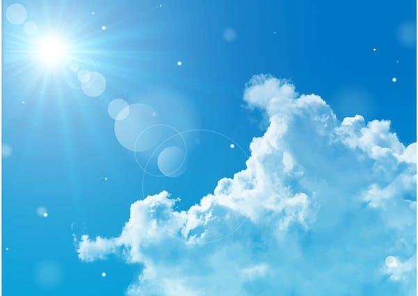 太陽光には紫外線も含まれる